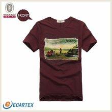 Mens Custom Printed Tshirts Fashion Garment