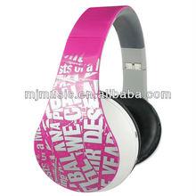 Auricular Estéreo Supra Aural Cerrado Inalámbrico Bluetooth audifono para celulares MJ-8860BT