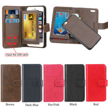 Multi functional leather wallet case for iPhone 6,for apple iphone 6 case