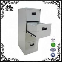 Factory direct sale under desk 4 drawer metal filing cabinet