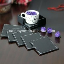 12002 Leather coaster 4 in 1set For Hot Selling