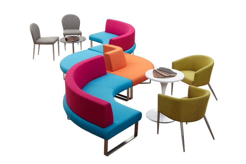 multiples couleurs tissu canap s de bureau petite taille. Black Bedroom Furniture Sets. Home Design Ideas
