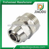 DN50 forged china manufacture nickel plated QSn4-4-2.5 brass pvc reducing sanitary fittings