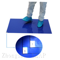 China Manufacturer Professional/Anti-static/30 Layer/PE/Sticky Floor Mat/Grey/Blue/White