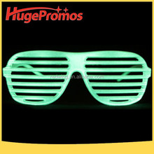 Eco-Friendly Glow In the Dark Shutter Glasses For Party Favor