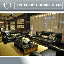 Italian design Top Grade Genuine Leather Sofa