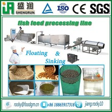 floating fish feed extruded machine