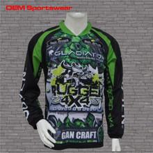 Design best quality oem custom bmx jersey club