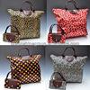 Foldable shopping bag, reusable shopping bag, folding shopping bag