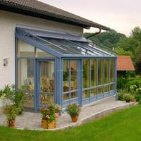China foshan best supplier aluminium double glass sunrooms,exterior winter garden