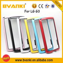 2016 Lithium Technology Bumper Case Universal Lighter Phone Case For LG G3,Metal Bumper Frame Case For LG G3 Battery Cover