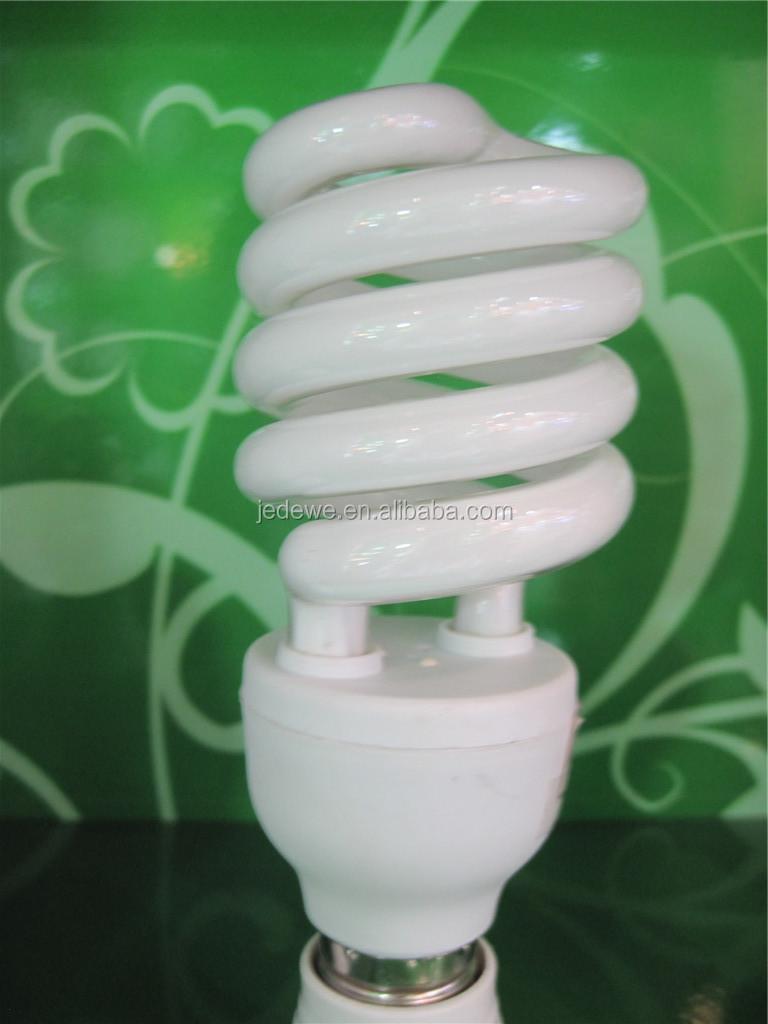 CFL half spiral energy saving bulbs