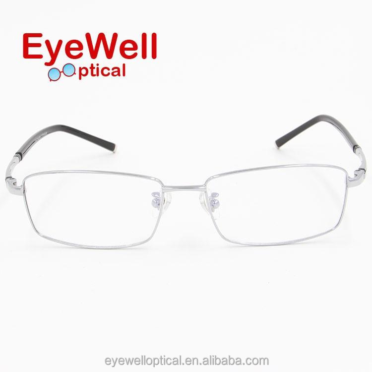 Mens Eyeglass Frame Styles 2015 : 2015 Vogue Men Style Pure Titanium Glasses Optical Frame ...
