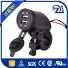 Super fast new products promotional 5v 2a dual micro usb motorcycle charger for iphone motorcycle charger factory in Shenzhen