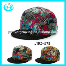 venta al por mayor 2013 unisex populares del bordado de hip hop baratos gorras de béisbol gorra plana