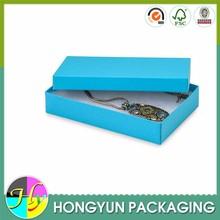 custom fashion style jewelry packaging box