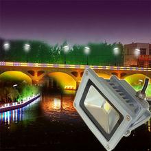 2012 High Power 110V 120V 220V Outdoor IP65 IP67 remote control 10W LED Flood Light 10W RGB