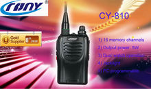 CY-810 long time standby 100hours long distance cordless phone wholesale walkie talkie