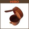 Top Grain Genuine Cowhide Leather Fishing Reel Bag/Spinning Wheel Fishing Reel Bag Protective