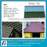 Anti-UV Galvalume Material Stone Coated Metal Roofing Sheet
