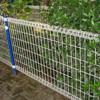 Professional pvc coated metal dog fence outdoor dog fence