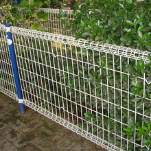 Professional pvc coated metal dog fence outdoor dog fence