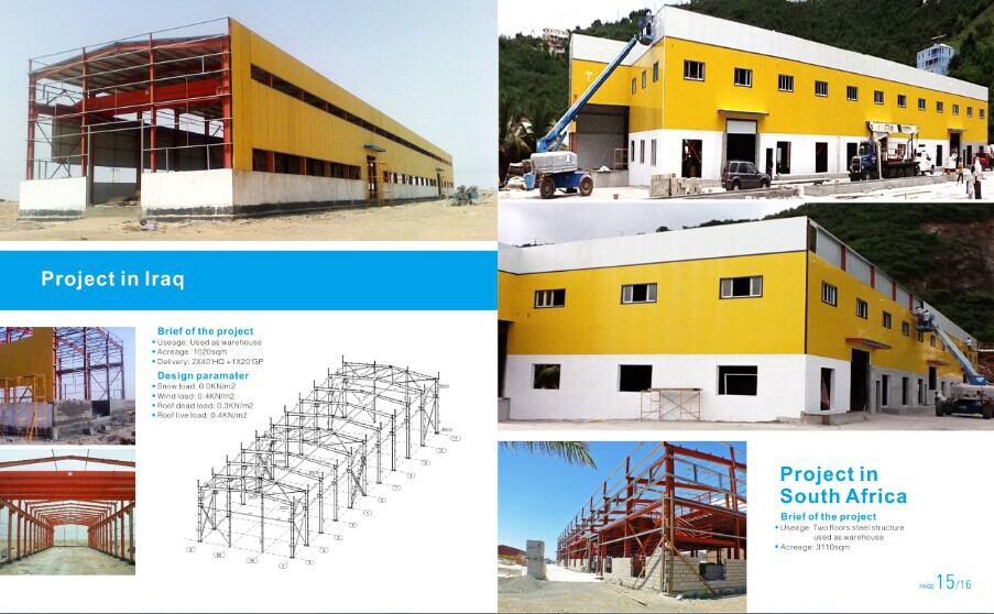 High Rise Steel Structure prefabricated building used as apartment