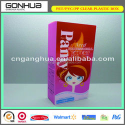 2014 Popular Top Gear China Eco-friendly Good Plastic 120ml Gentle Aloe Moisturizing Facial Cleanser PET Packaging box