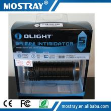 Olight SR Mini 3xXM-L2 3x18650/6xCR123A 2800 lumen most powerful flashlight searchlight