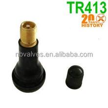 TR413 EPDM Rubber Car valve,valve stems,tubeless valve