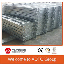 Layher Type of Catwalk Pre-galvanized Steel Planks for Construction Materials
