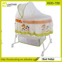 baby swing cradle bed with mosquito net