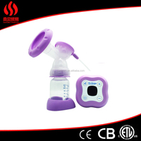 Simple Type Mom Use Electric Breast Pump/baby Milk Sucking Device Easy Cleaning