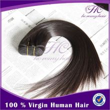 Thick Bottom Long lasting Raw two tone color ombre hair extension