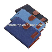Jeans Style Leather Cover For Samsung Galaxy Note 3 N9000