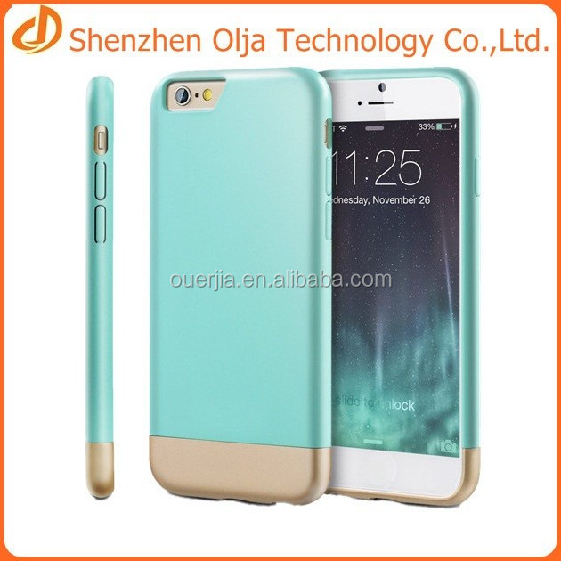 tpu+pc case for iphone 6,new style 2 in 1 case for iphone 6,mobile accessories for iphone 6 case