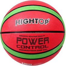 29.5 inch full size rubber outdoor basketball for students or kids/custom cheap promotion basketball