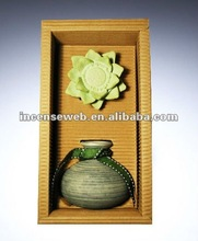 2012 Hot Sale Reed Diffuser Set With Ceramic Bottle With Essential Oil