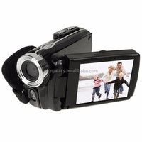 Solar Energy 3.0 inch Touch TFT LCD Screen 16X Zoom DV Digital Video Camera, Interpolation 16.0 Mega Pixels Sensor