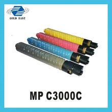 prima de china fabricante de toner cartucho supplys c3000c mp de color para copiadoras ricoh