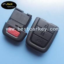 Hot Sale 3+1 buttons car control remote key for chevrolet key car remote key 433mhz