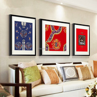 Chinese Arts and Crafts Paintings Canvas Wall Decorative Picture