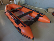 CE certificaton and Inflatable jet Boat with motor