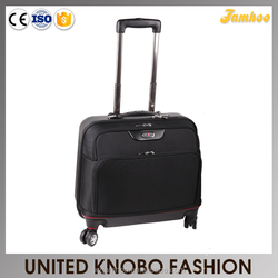 2015 New 1680D+ABS laptop trolley case hard and soft laptop luggage