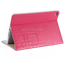 Factory Customized 12.9 inch PU Leather Tablet Cover Case for iPad Pro, Stand Leather Case for iPad Pro 12.9 inch Tablet
