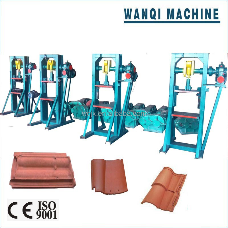 manual roof tile making machine auto and manual clay tile press