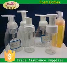 100ml,250ml,500ml,1000ml clear plastic PET bottles