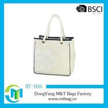 2015 high quality Organic Cotton Shopping Tote Bag