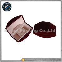 Lip Shape Chinese Paper Box Jewelry Ring Boxes Velvet Pad Inside JBP178R