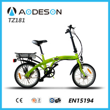 High Grade Full Aluminium Alloy/ OEM DIY Lithium electric bikeTZ181 with lithium battery and 250w motor